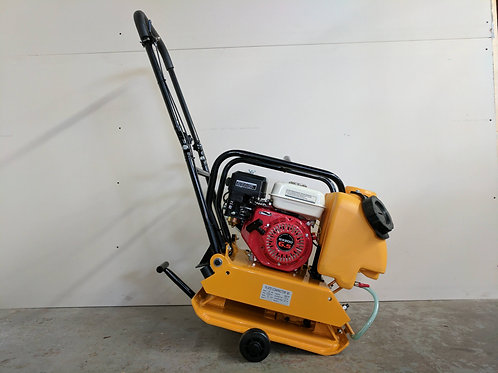 C-90 17 Inch Commercial GX200 Plate Compactor + Wheel Kit + Water Kit