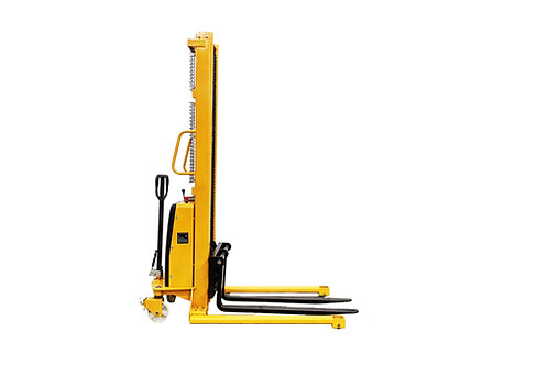 SPN1035E - Semi Electric Wide Leg Stacker 1000 kg (2204 lbs) + 138'' Capacity