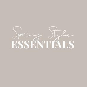 Seven Spring Style Essentials