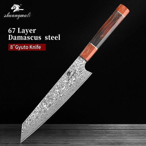 Couteau japonais damas