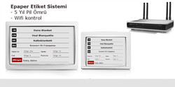 Epaper Etiketleme Sistemi