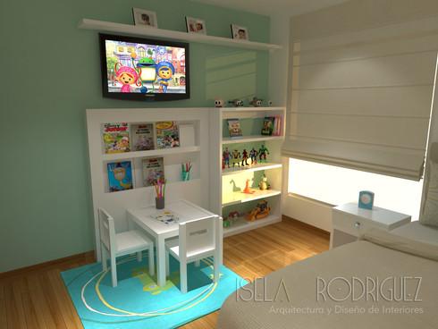 Dormitorio de niño