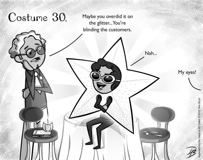 Inktober: Costume 30