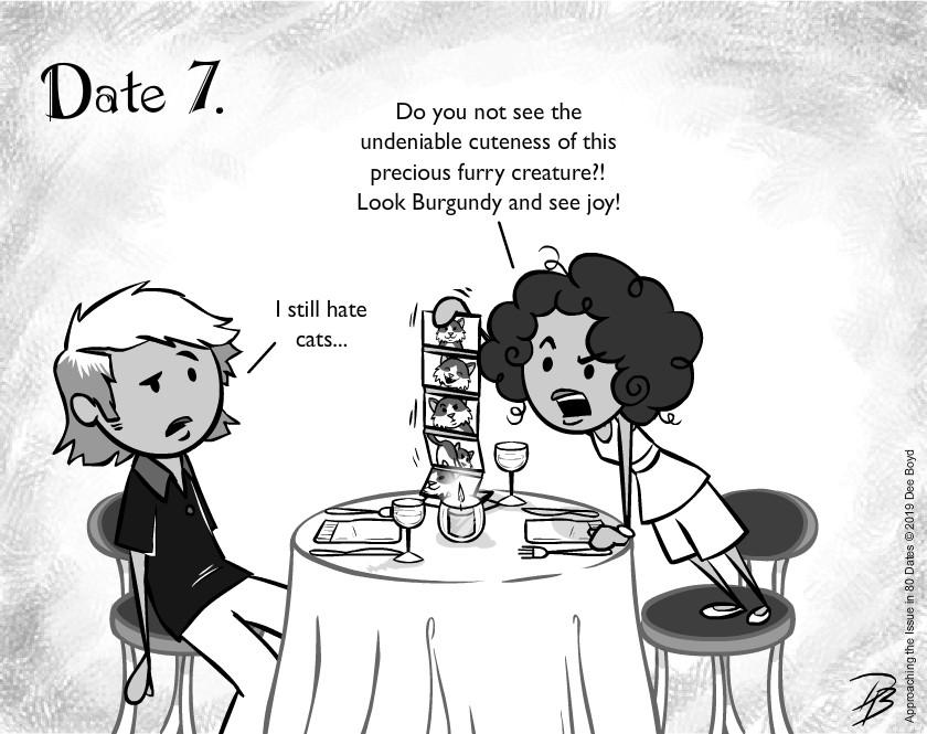 Date 7 - Mr. Cat Hater