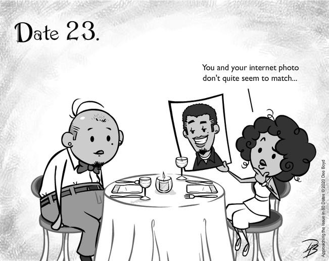 Date 23 - Mr. Misleading