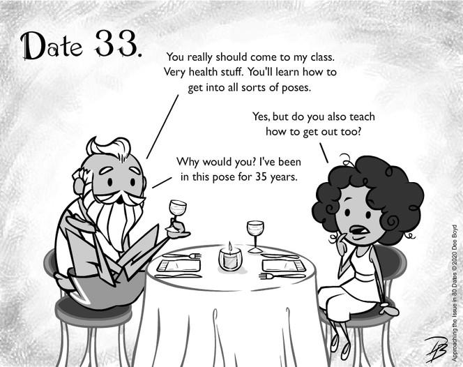 Date 33 - Mr. Yoga