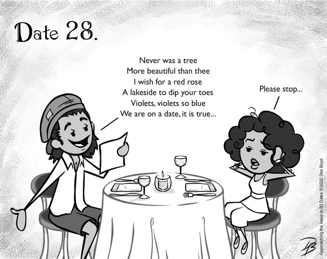 Date 28 - Mr. Bad Poetry