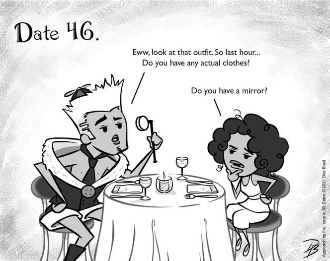 Date 46 - Mr. Fashion Critic