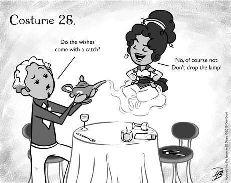Inktober: Costume 25