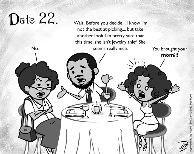 Date 22 - Mr. Mama Don't Approve