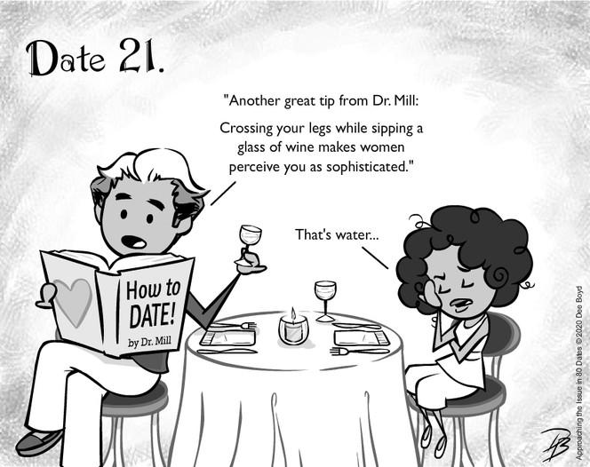 Date 21 - Mr. Self Help