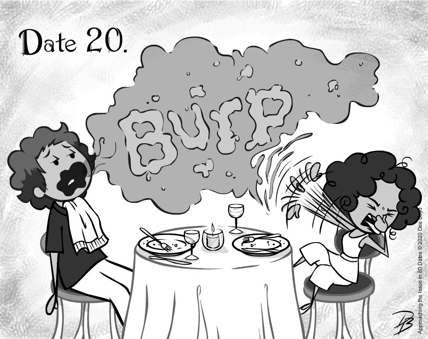 Date 20 - Mr. No Manners