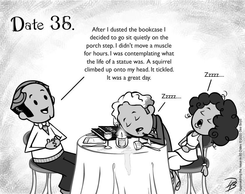 Date 35 - Mr. Boring