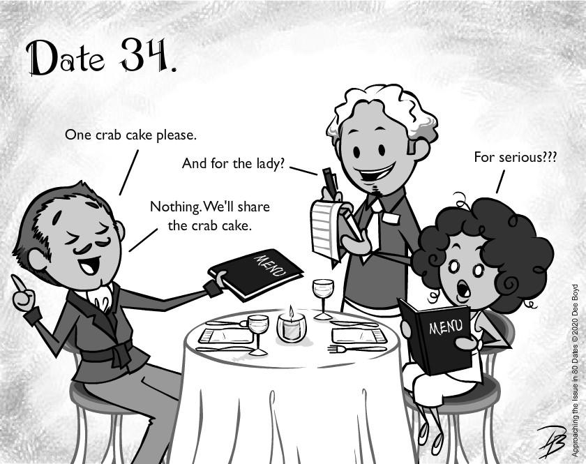 Date 34 - Mr. Cheap