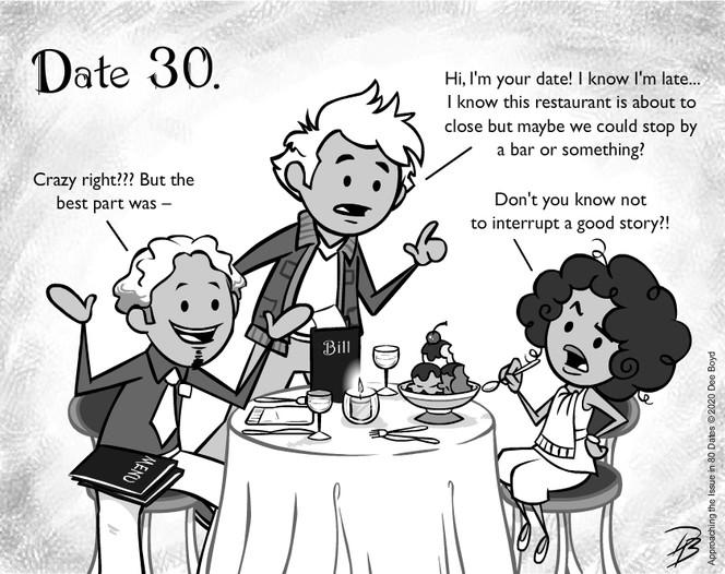 Date 30 - Mr. Late