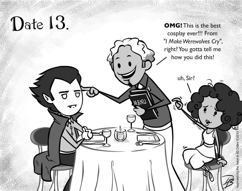 Date 13 - Mr. Cursed