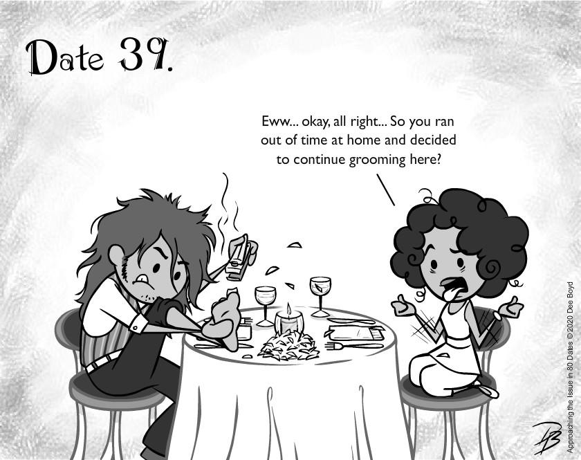 Date 39 - Mr. Gross