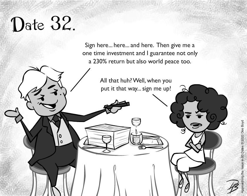 Date 32 - Mr. Scam