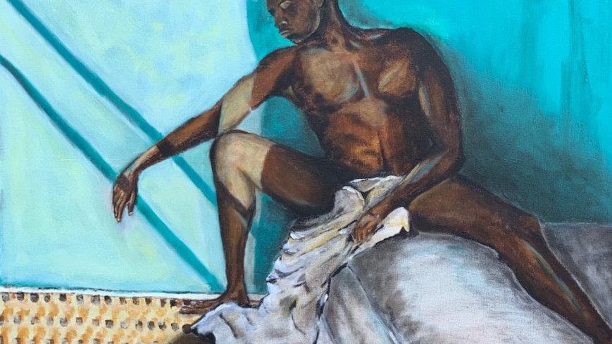 (Original Painting) Son, Rest.