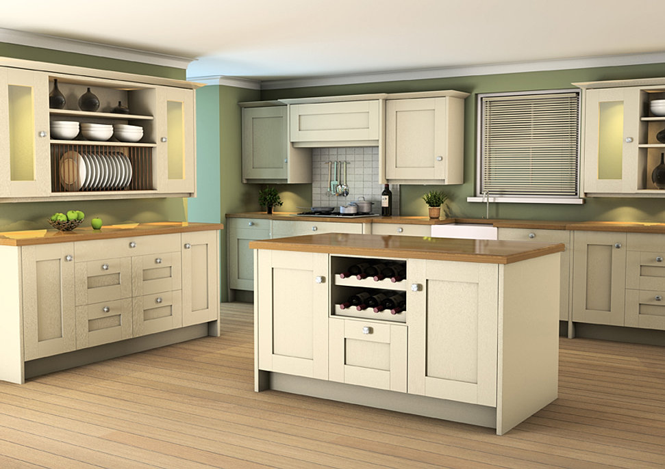 Shropshire and staffordshire kitchens for Kitchens direct