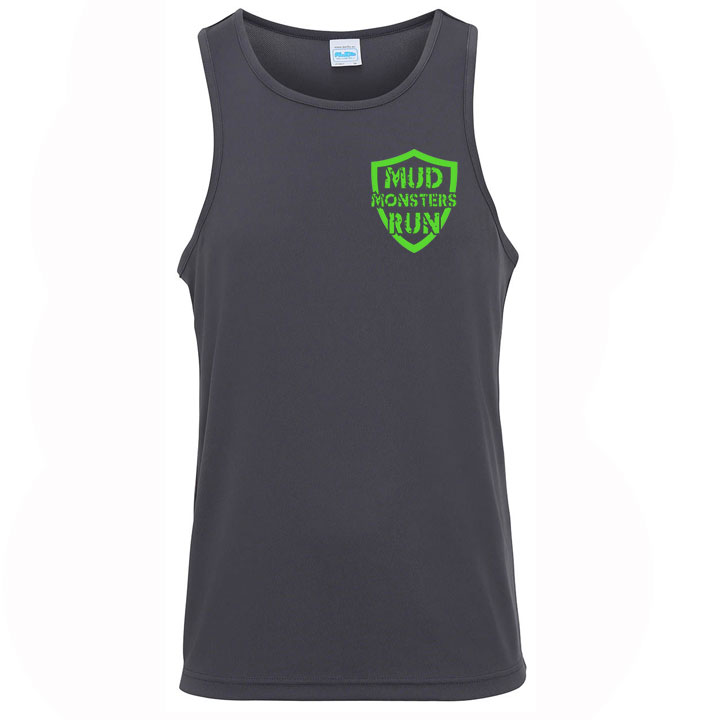 Mud Monsters Run Mens Vest Top