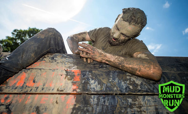 Muddy wall