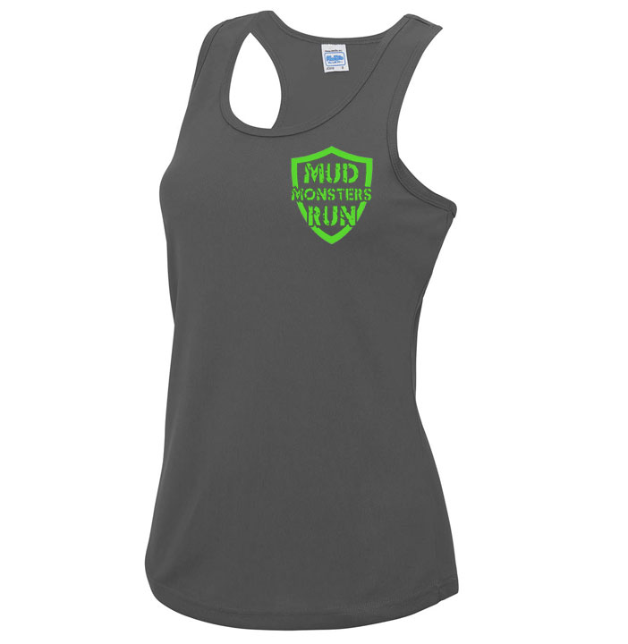 Mud Monsters Run Ladies Vest Top