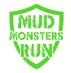 Mud Monsters Run - Car Sticker