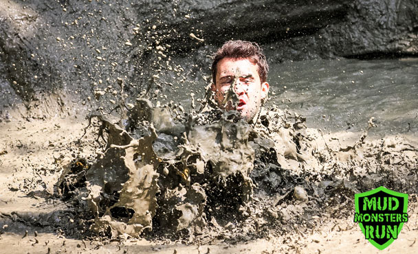 Muddy splash