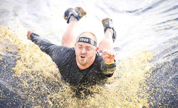 Water slide pose