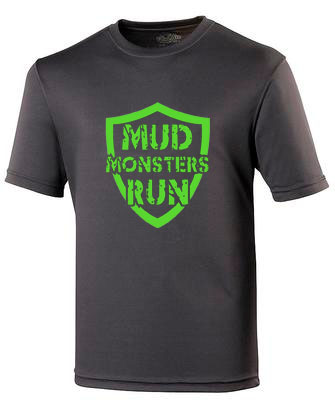 Mud Monsters Run Tech T-shirt