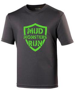 Mud Monsters Run Tech T-shirt