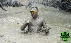 Muddy head to toe