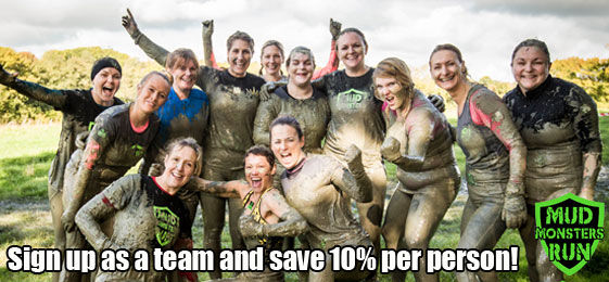 Sign up as a team of 5 or more and save 10% per person.