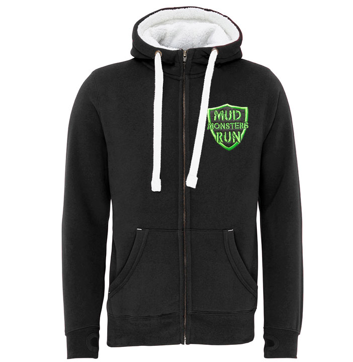 Mud Monsters Run Sherpa Hoodie