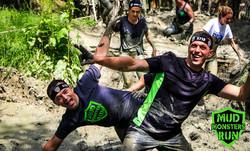 Mud pit fun