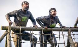 Cargo net climb
