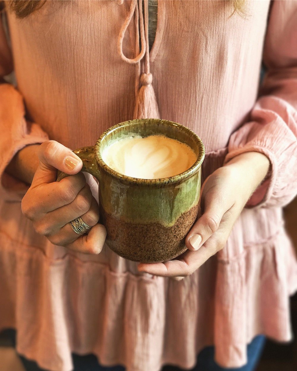Handmade Adirondack Coffee Mug