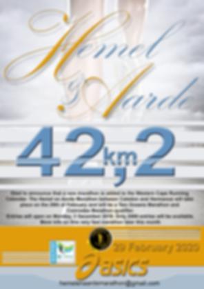 Hemel en Aarde Marathon 000\  29 February 2020