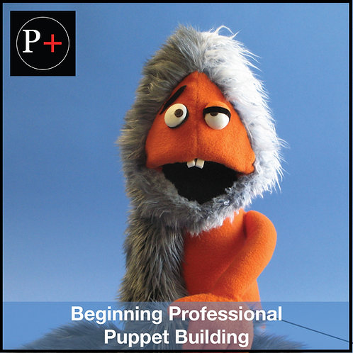LA Beginning Professional Puppet Building - Starts on 05/08