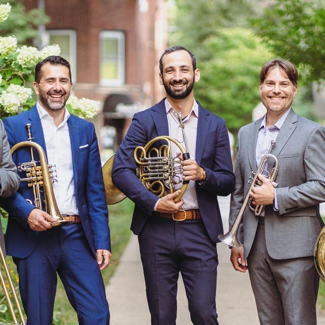 Axiom Brass Quintet Concert & Forum Video