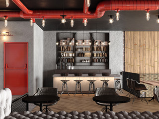 Restaurant and Shop Industrial style (6)