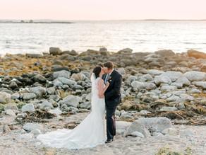 Kaitlin & Mike's Oceanstone Seaside Elopement
