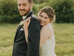 Aurora & Chris's Lakeside Wedding