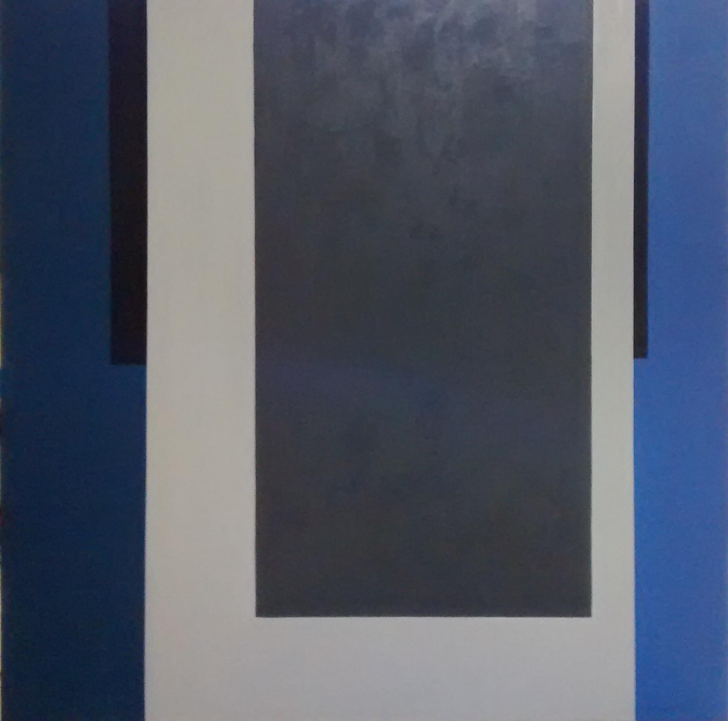 EDUARDO PETRY -  AZUL - 156 x 156 - OLEO