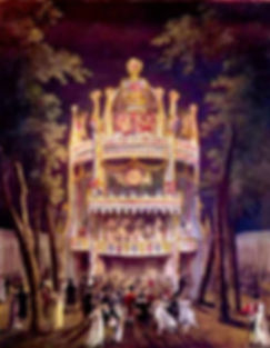 Vauxhall Gardens - from the Microcosm of