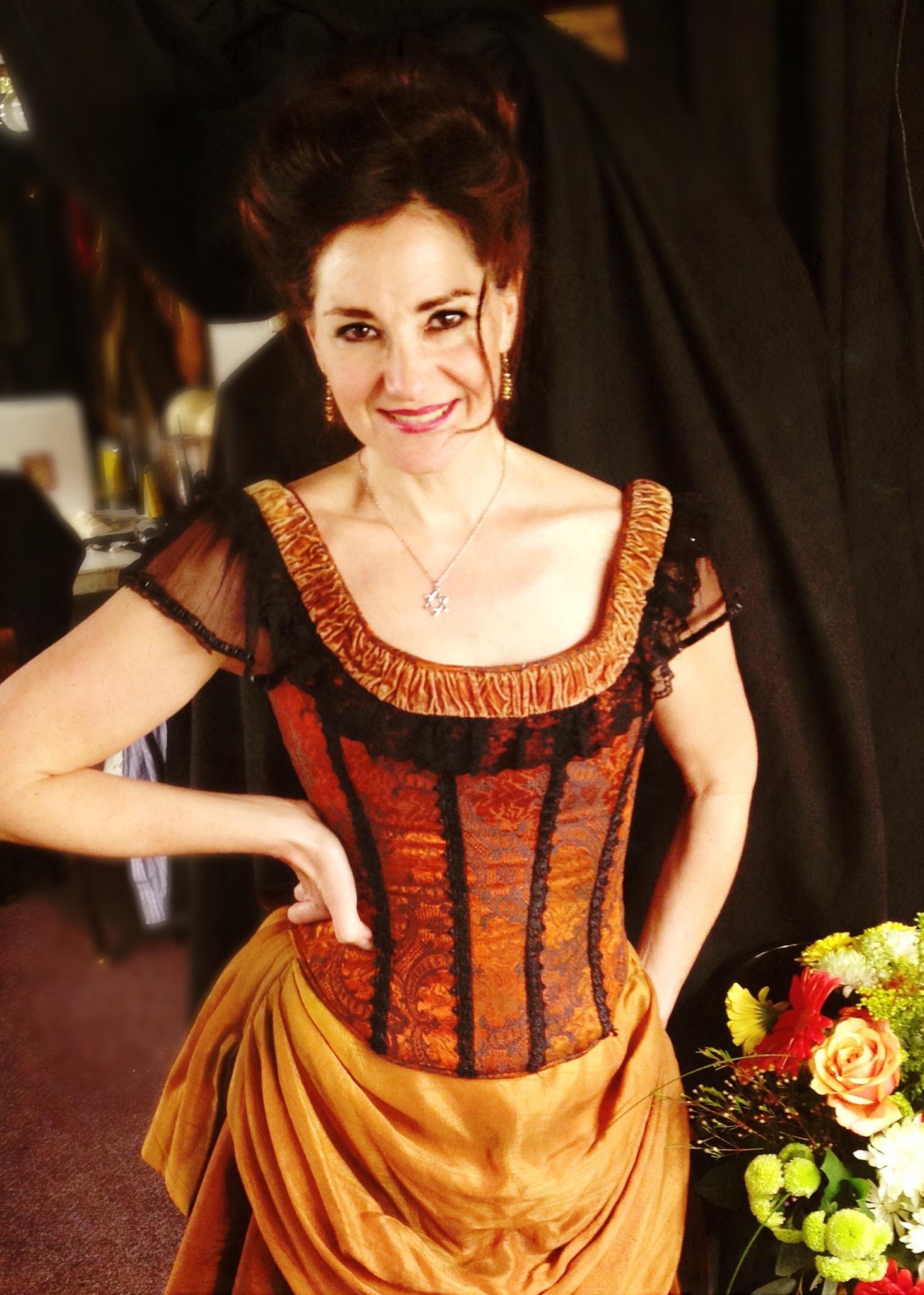 Ritz as Josephine Marcus Earp