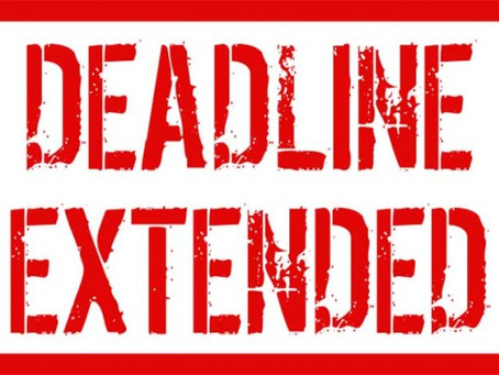 TOMORROW NIGHT AT MIDNIGHT IS ABSOLUTE DEADLINE FOR ONLINE REGISTRATION!!