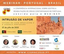 INTRUSÃO DE VAPOR - PORTUGAL