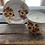 Thumbnail: Vintage Floral Demitasse Cup Candle & Saucer